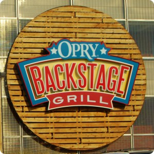 Backstage Grill Opryland